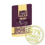AATU アートゥー キャット ウエット サーモン ターキー&グース 85g