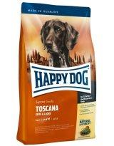 ≪ペット先進国ドイツのスーパープレミアムフード≫ハッピードッグ トスカーナ(サーモン&ダック)(中型〜大型犬・低脂肪・老犬やウエイトケア)